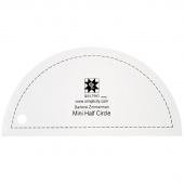 EZ Quilting Jelly Roll Ruler - Mini Half Circle