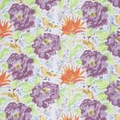 Color Fusion - Birds of Paradise Gray Yardage