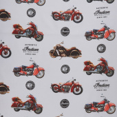 Indian Motorcycle - Main Gray Yardage