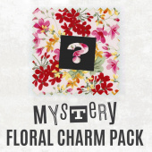 Mystery Floral Charm Pack
