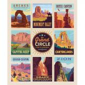 Destinations - The Grand Circle Poster Multi Digitally Printed Panel