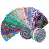 "Kaffe Fassett Collective February 2020 Cool 2.5"" Strips"