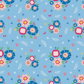 Pure Delight - Main Blue Yardage