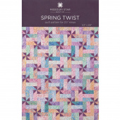 Spring Twist Quilt Pattern by Missouri Star