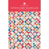 9-Patch and Hourglass Quilt Pattern by Missouri Star