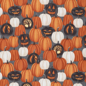 Harvest Moon - Large Pumpkins Orange Yardage