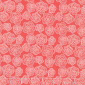 From the Heart - Roses Red Yardage