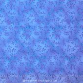 Folio Basics - Sprig Medium Blue Yardage