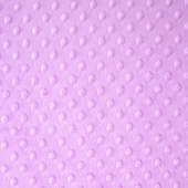 "Cuddle Embossed Dimple - Lilac 60"" Minky Yardage"