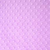 "Cuddle Embossed Dimple - Lilac 60"" Minky Yardage"