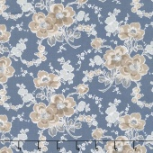 Charming - Charming Main Blue Yardage