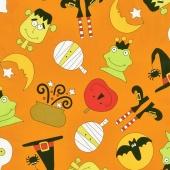 Fright Night - Quite a Fright Orange Yardage