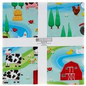 """Farm Life 10"""" Squares"""