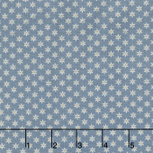 Heritage Quilting - Mini Print Blue Yardage