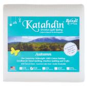 Bosal Katahdin Premium Autumn 100% Cotton Batting Twin