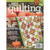 Better Homes & Gardens American Patchwork & Quilting (October 2018)