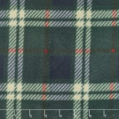 Winterfleece Prints Plaids and Checks - London Plaid Navy Fleece Yardage