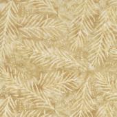 """Wilmington Essentials - Delicate Fronds Dark Tan 108"""" Wide Backing"""