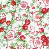 Illuminating the Season - Balaustine Noel Digitally Printed Yardage