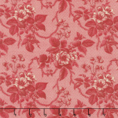 Cinnaberry - Winter Blooms Cranberry Yardage