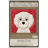 Bichon Frise Precut Fused Appliqué Pack