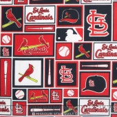 MLB Major League Baseball - St. Louis Cardinals Block Yardage