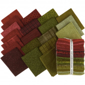 Woolies Flannel Holiday Warmth Fat Quarter Bundle