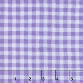 Good Day! - Giddy Gingham Purple Yardage