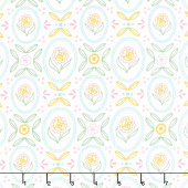 Flutter and Shine - Cottage White Yardage