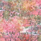 Reverie - Mirage In Bloom Sweet Pea Digitally Printed Yardage