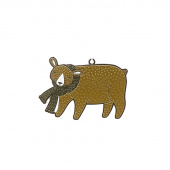 Merriment Bear Ornament