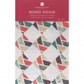 Boxed Weave Quilt Pattern by MSQC
