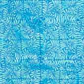 Floralicious Batiks - Four Square Leaves Waterfall Yardage