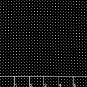 Eek Boo Shriek - Shriek Dot Black Yardage