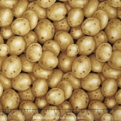 Farmer John's Garden Party - Potatoes Brown Yardage