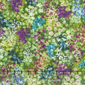 Wildwood Way - Enchanted Meadow Moss Digitally Printed Yardage