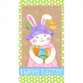 Carrot Patch - Bunny Panel