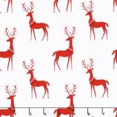 Woodland Winter - Reindeer Santa Yardage