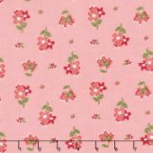 Summer Blush - Posie Pink Yardage