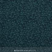 Bluebird Gathering - Branches Tonal Navy Yardage