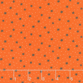 A Spooky Good Time - Starry Sky Pumpkin Yardage