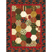 Missouri Star Holiday Flourish Easy Half-Hexagon Kit