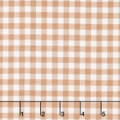 Bake Sale 2 - Gingham Nutmeg Yardage