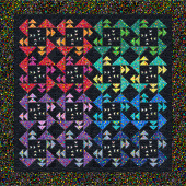 Missouri Star Glass Beads Gaggle of Geese Quilt Kit