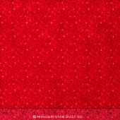 Wilmington Essentials - Magic Colors Petite Dots Red Yardage