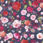 Petal Park - Rose Garden Peony Fabric Yardage