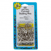 Collins Curved Basting Pins - Size 2