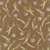 Mill Creek Garden - Wildflowers Earth Brown Yardage