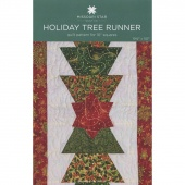 Holiday Tree Runner Quilt Pattern by Missouri Star