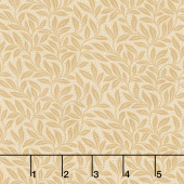 "Sweet Holly - Wreath Vine Tan 108"" Wide Backing"